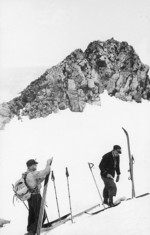 Brian McMillian and Charlie Ambury on the summit